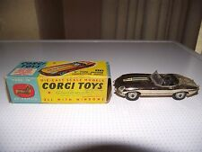 jaguar e-type corgi  Competition Model (silver)   near mint boxed
