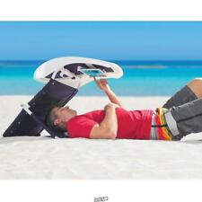 The Shady Face Portable Sun Shade Beachgoer's Reading Room w/ Tablet Mount
