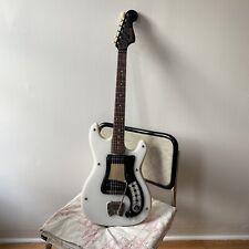 Vintage 1964 Hagstrom Hagstrom I White Plastic Top Vinyl Back Electric Guitar