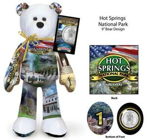 5 National Park Coin bears -  16 different ones available  Limited Treasures