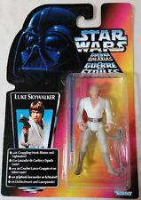 STAR WARS - Kenner The Power Of The Force Red Card Euro Luke Skywalker Figure