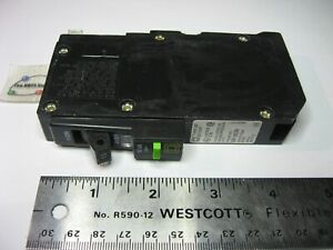 Circuit Breaker 15 Amp Single Pole Square D QO115AFI USED Neutral Clipped Qty 1