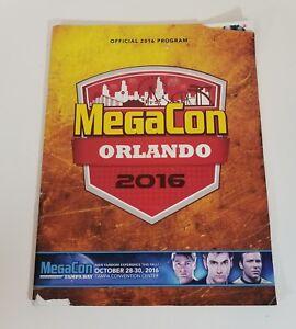 MegaCon Orlando Program Book 2016 Souvenir official Comic