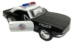 1 X DIECAST 1967 CHEVROLET CAMARO POLICE gift toy model replica vehicle car
