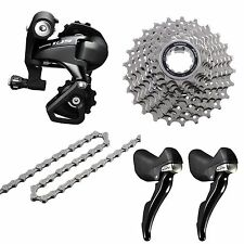 Shimano 105 5800 11 Speed Shifter Rear Derailleur Cassette 11-28T Chain Groupset
