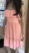 Vestido de verano Claudie Pierlot Melocotón 10 Harrods