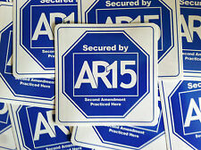 AR-15 SECOND AMENDMENT STICKER