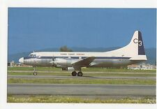 Panama Cargo Three Convair 580 F at Bogota Eldorado Airline Postcard, A626