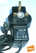 ORA POWER SUPPLY TYPE 9126 UK 12V 0.8A UK PLUG