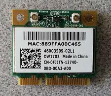 Dell Inspiron N7110 Dw1702 Atheros Ar5B195 Wireless WiFi Card Fjjtn Genuine