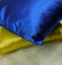 Beautiful Satin Look Designer Cushion Stunning bright colour 40cm royal blue new