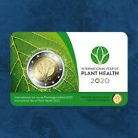 Belgien - Pflanzengesundheit  - 2 Euro 2020 BU Coincard - Niederlande Ausgabe