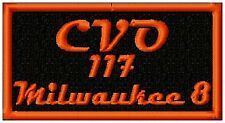 CVO 117 Milwaukee 8  -   BIKER PATCH