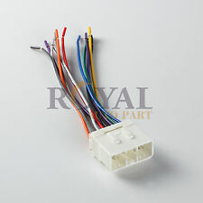 CAR STEREO CD PLAYER WIRING HARNESS WIRE ADAPTER PLUG AFTERMARKET RADIO METRA