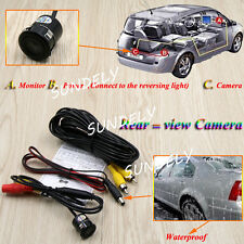 170° Mini Color Reverse Backup Car Front Rear View Camera Night Vision Best New
