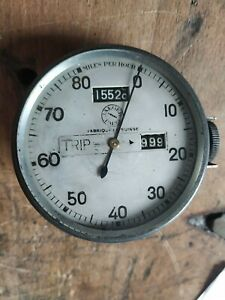 Jaeger Smiths speedometer revcounter Tacho Drehzahlmesser chronometric reset 0