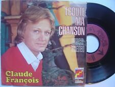 CLAUDE FRANÇOIS écoute ma chanson / DISQUE meteo FRENCH 45 PROMO de FLECHE º º