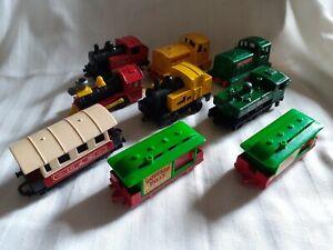 Corgi/Matchbox Diecast Trains/Carriages. Used Condition