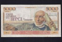 French Equatorial Africa 5000 Francs  P-27  1952