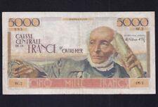 French Equatorial Africa 5000 Francs  P-27  1952