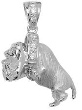 925 Sterling Silver British Bulldog Pendent 32 Gram