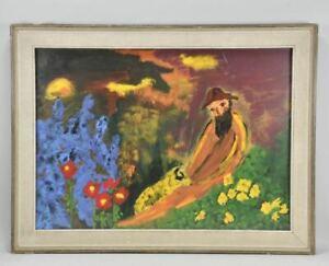 a61l01- Gemälde, monogr. CR, verso bezeichnet Christian Rohlfs
