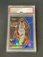 2017 Panini Select LeBron James Blue Prizm /299 PSA 10 GEM MINT