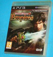 Dynasty Warriors 7 VII - Empires - Sony Playstation 3 PS3 - PAL