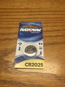 (E1) RAYOVAC KECR2025-1C 3-Volt Lithium Keyless Entry Battery (1 pk CR2025 Size)