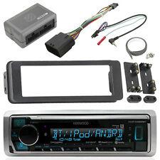 Marine Bluetooth Radio, Scosche Harley Handlebar Control, Stereo Install Kit