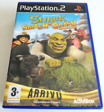 SHREK SMASH N' CRASH RACING PS2 PLAYSTATION 2 ITALIANO SPED GRATIS SU + ACQUISTI