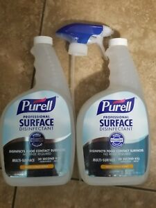 2 Professional Surface Cleaner Sealed All Purpose Citrus w/ SprayNozzle  2 Pack