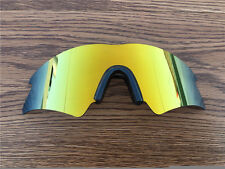 24K Gold polarized Replacement Lenses for oakley M frame Sweep/nose clip