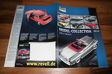 REVELL KATALOG -- Model-Collection 2001/2002 // Metal Cars and Trucks
