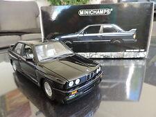 BMW M3 E30 serie 3 Noire 1/18 MINICHAMPS