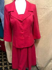"""TALBOTS Tailored LINEN LINED SHEATH PARTY DRESS SIZE 8  & Blazer  CHEST 36"""""""