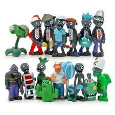 16PCS Plants vs Zombies Series Game Plastic Role Mini Action Figures Kids Toys