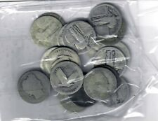 US $5.00 FACE SILVER Barber & Standing Liberty QUARTERS - 20 TOTAL Many No Dates