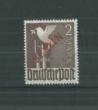 BERLIN 1949 2mk RED OVERPRINT PRISTINE MNH**