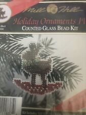 Mill Hill Beaded Cross Stitch Kit Holiday Ornaments IV Rockin' Rudolph H37.