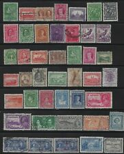NEWFOUNDLAND - USED STAMPS LOT + CARIBOU ON PIECES WITH NICE CANCELS