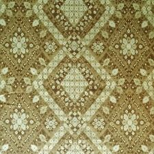 IMAN HOME PERSIAN DIAMOND MINERAL GOLD TAN UPHOLSTERY FABRIC $7.99 BTY 143FS