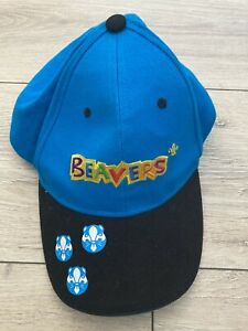 BEAVER SCOUTS BASEBALL CAP HAT OFFICIAL UNIFORM ONE SIZE - BEAVERS - USED