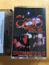 Cutmaster C Only God Can Judge Me 90s Hip Hop Queens NYC Mixtape Cassette
