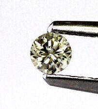 loose round diamond .18ct SI2 K 3.51X2.22mm vintage estate antique