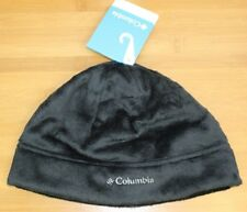NWT Columbia Pearl Plush II Hat (Beanie)- Black - O/S - Women's (MSRP $25.00)