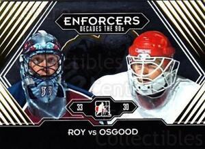 2013-14 ITG Decades 1990s Gold #182 Patrick Roy, Chris Osgood