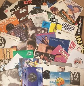 """7"""" Vinyl Single records Pick from 1200+ 60s 70s 80s90s £1.99each: Buy 7, 1 FREE!"""