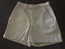 Rivted by Lee Beige 100% Cotton  Khaki Shorts Size 6