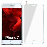 Panzer Glasfolie für Apple iPhone 8 / iPhone 7 aus Hart Glas Klar Display Schutz